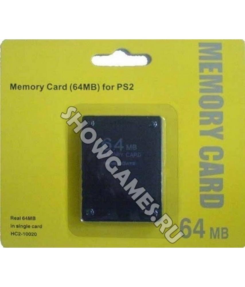 Карта памяти для PS2 64 Mb