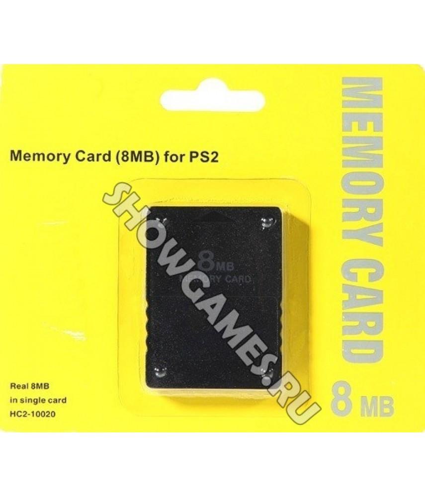Карта памяти для PS2 8 Mb