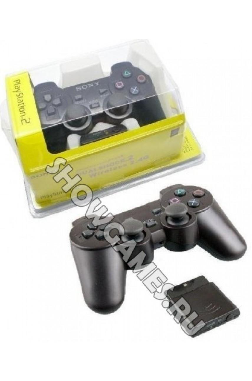 Джойстик беспроводной для Playstation 2 - Dualshock 2 Wireless Controller [PS2]