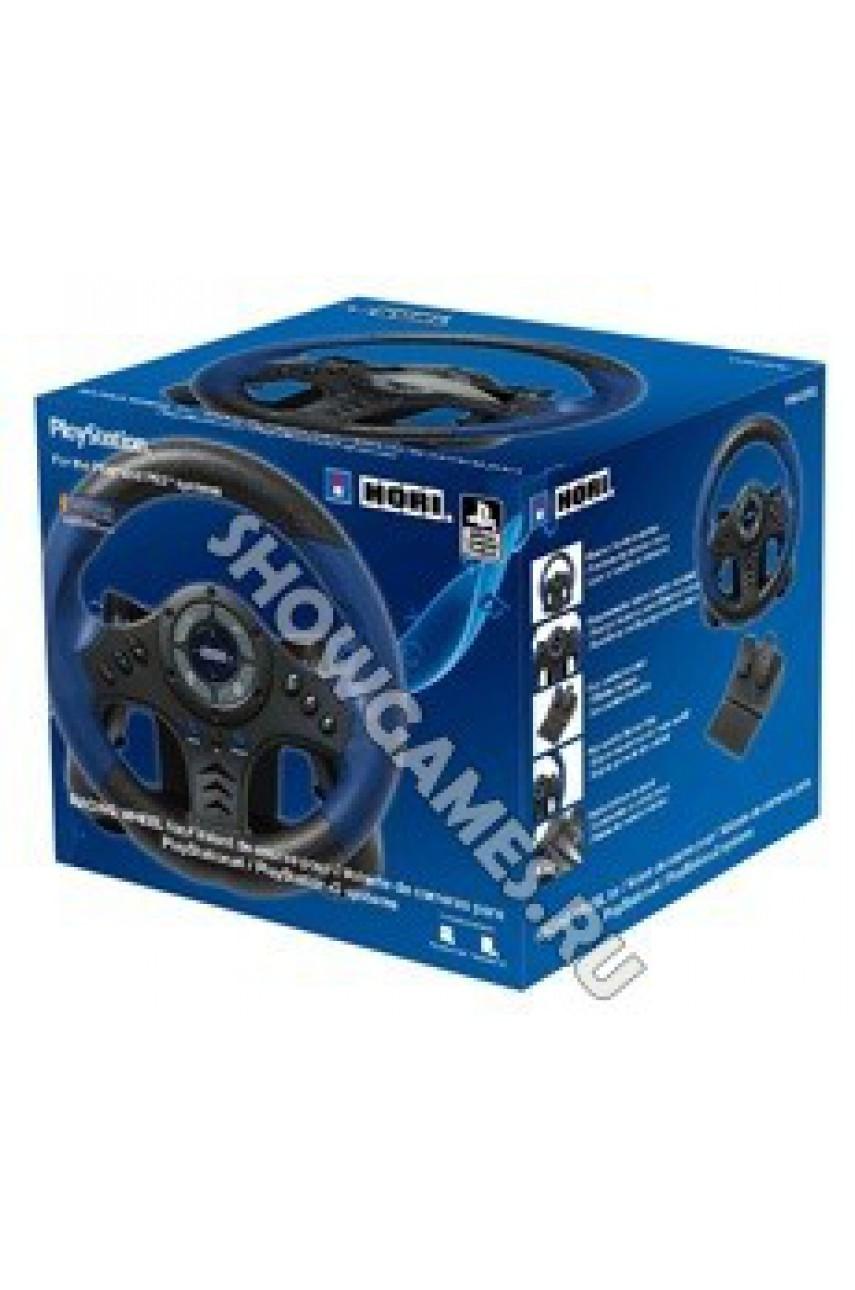 Руль Hori Racing Wheel Controller для PS3/PS4