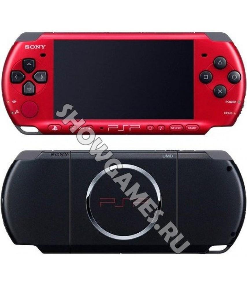 PSP 3000 Slim Red/Black (Ref Sony)