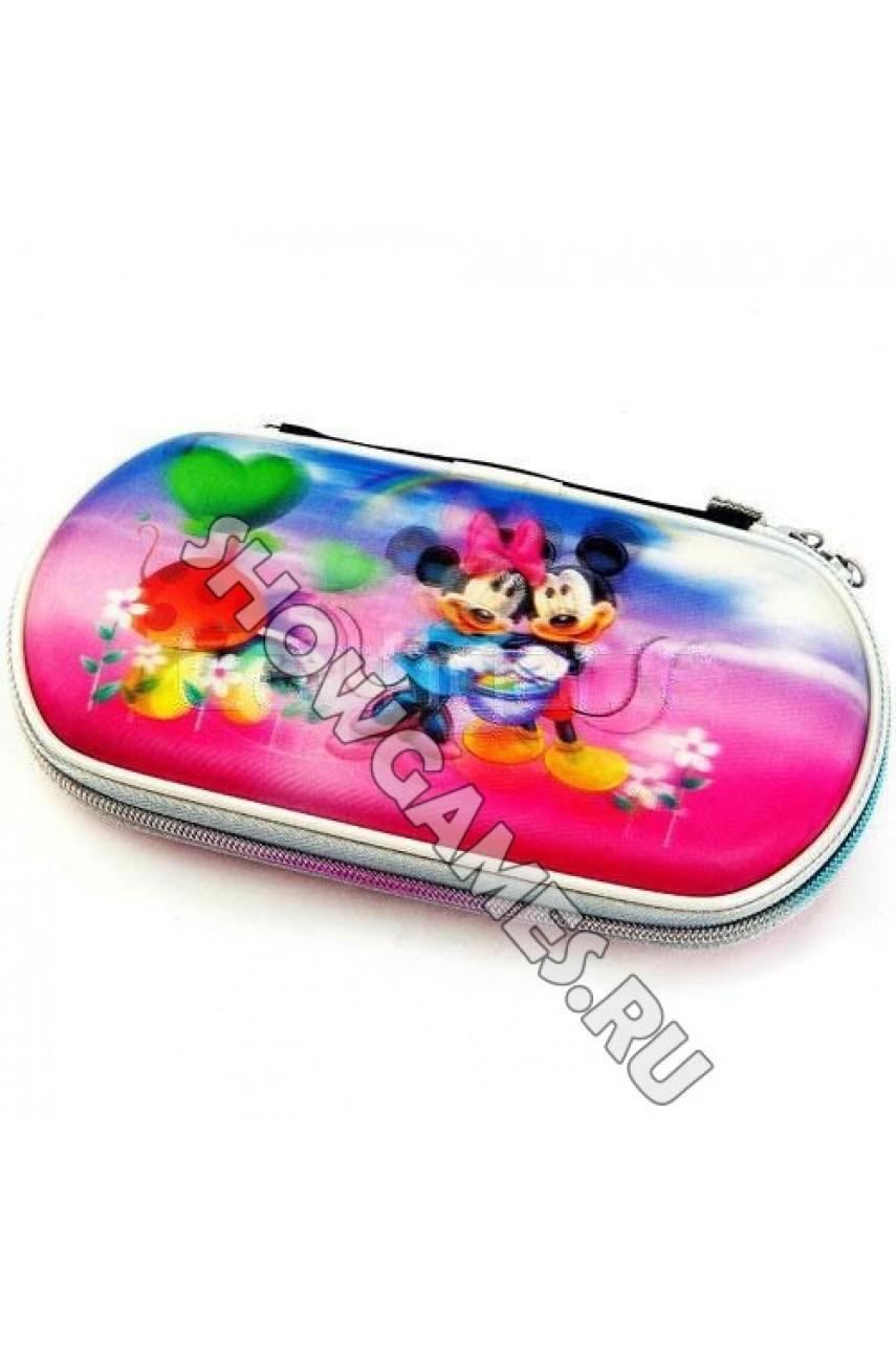 PSP 3D Case Foam - Защитный чехол с голографическим рисунком (в ассортименте)
