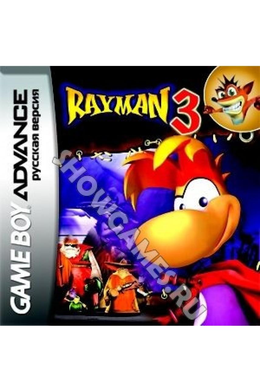 Rayman 3 (Русская версия) [GBA]