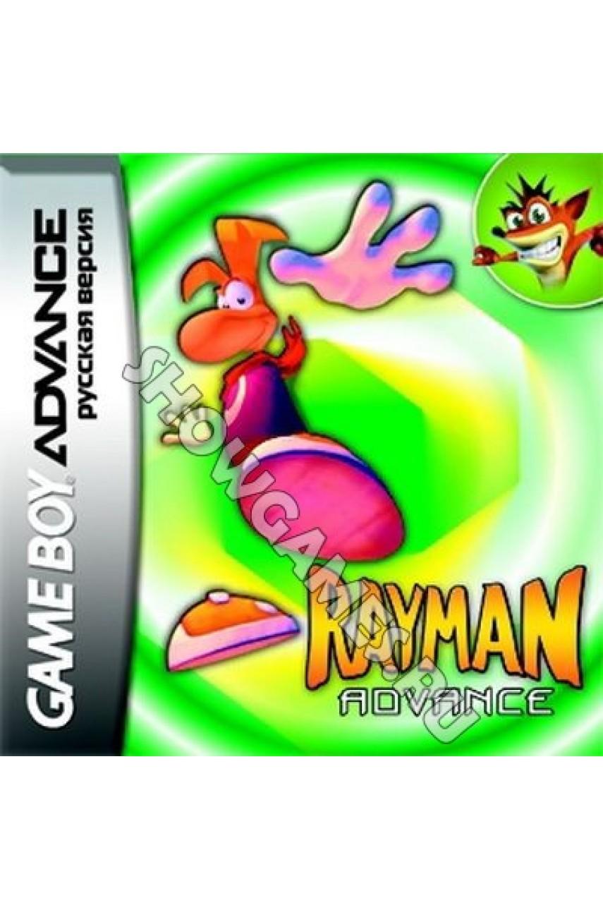 Rayman Advance (Русская версия)  [GBA]