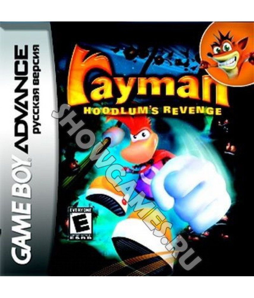 Rayman: Hoodlums' Revenge (Русская версия)  [GBA]