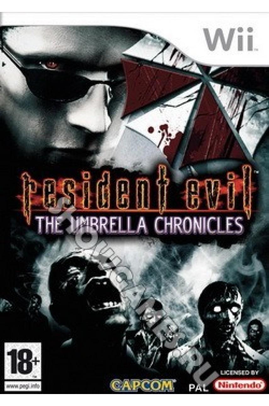 Resident Evil the Umbrella Chronicles [Wii]