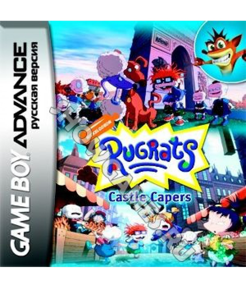 Rugrats Castle Capers [GBA]