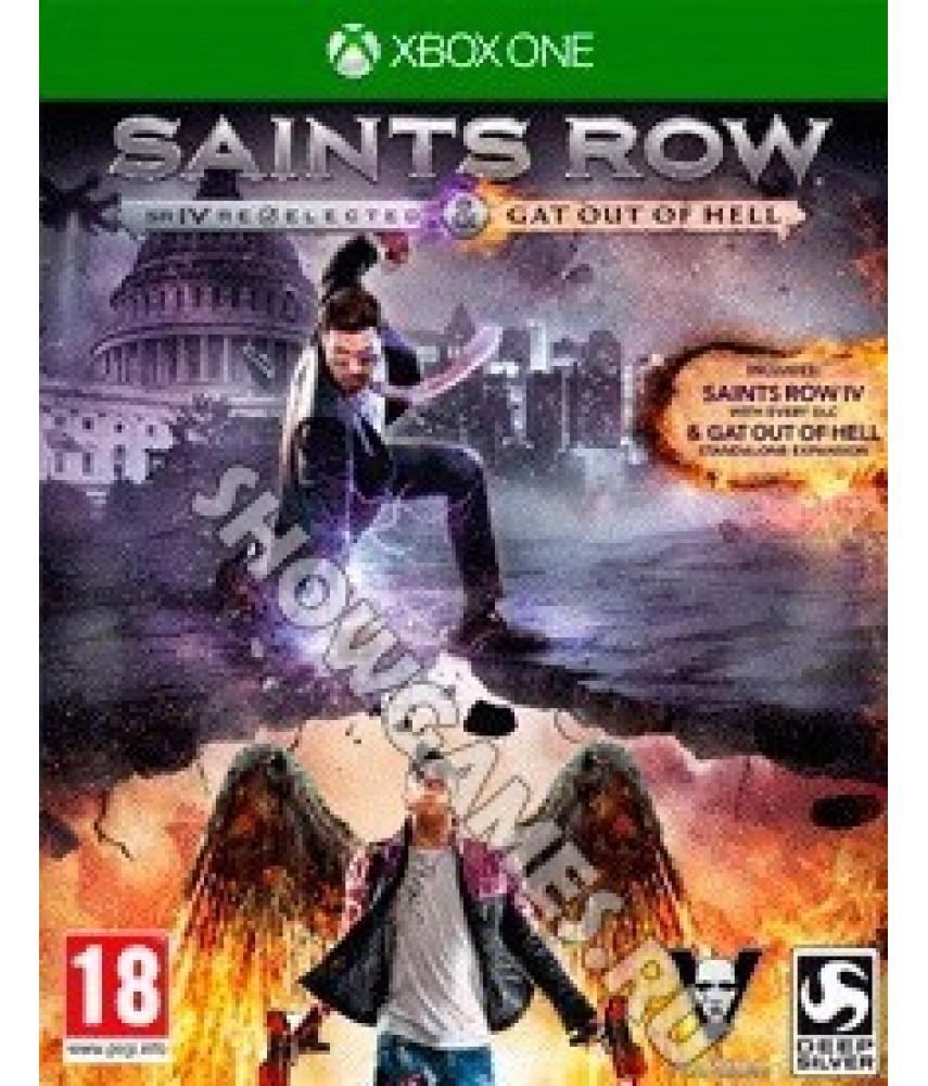 Игра Saints Row IV: Re-Elected с русскими субтитрами для Xbox One - Б/У