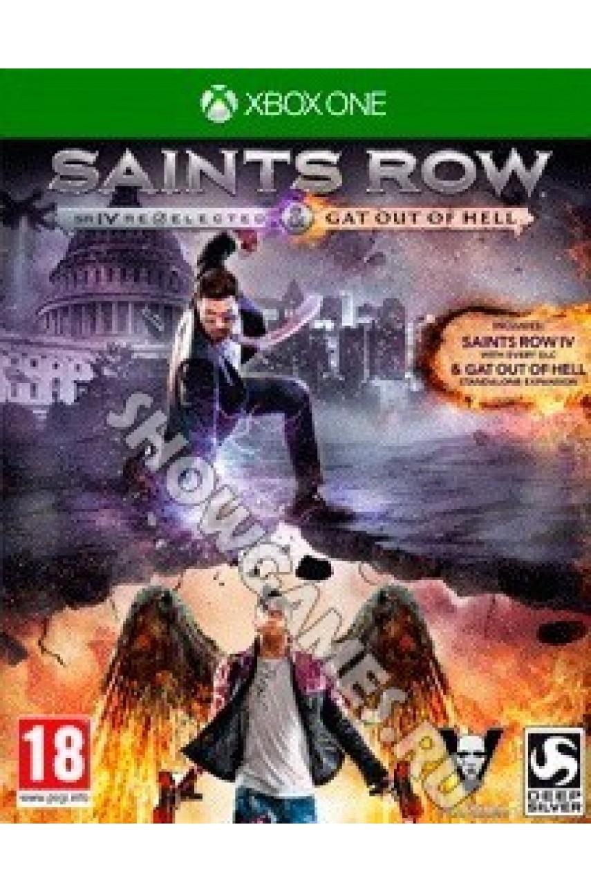 Saints Row IV: Re-Elected [Xbox One] - Б/У
