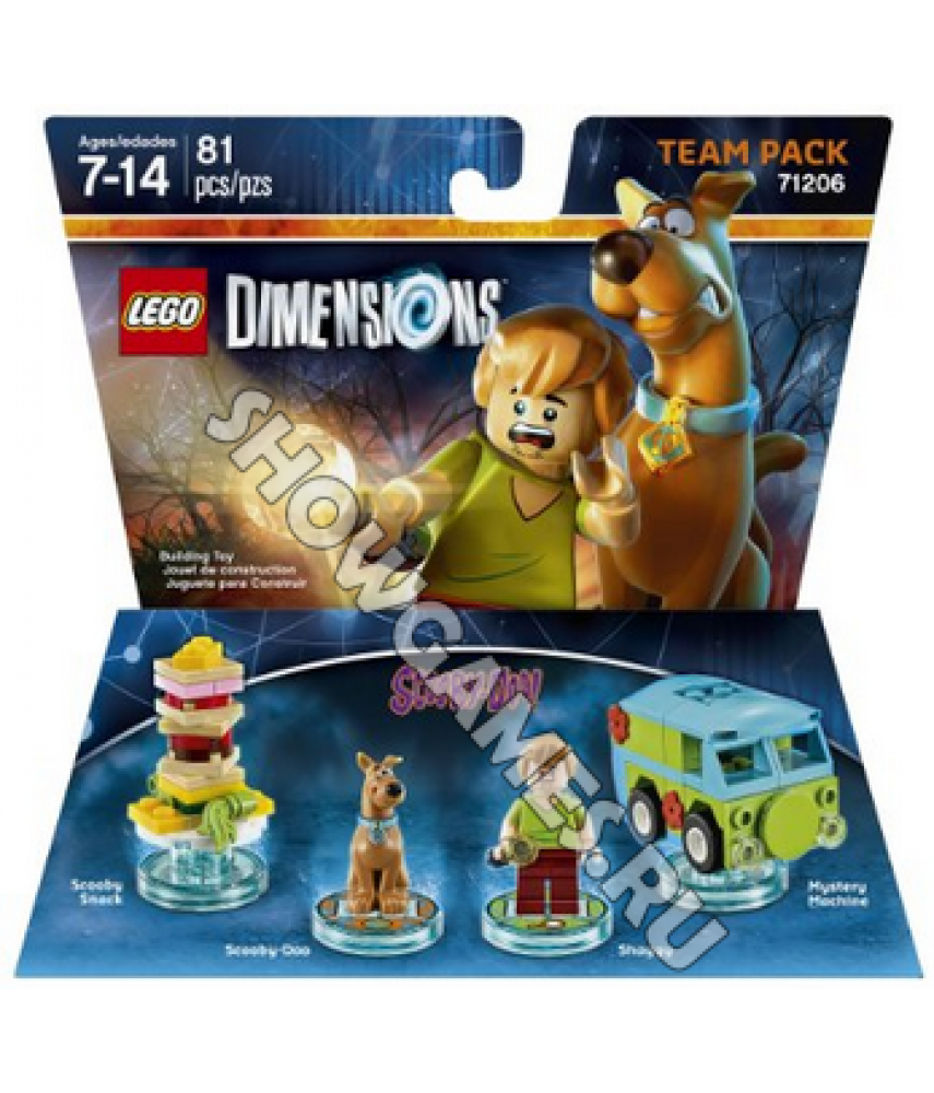 Scooby Doo Team Pack - LEGO Dimensions 71206