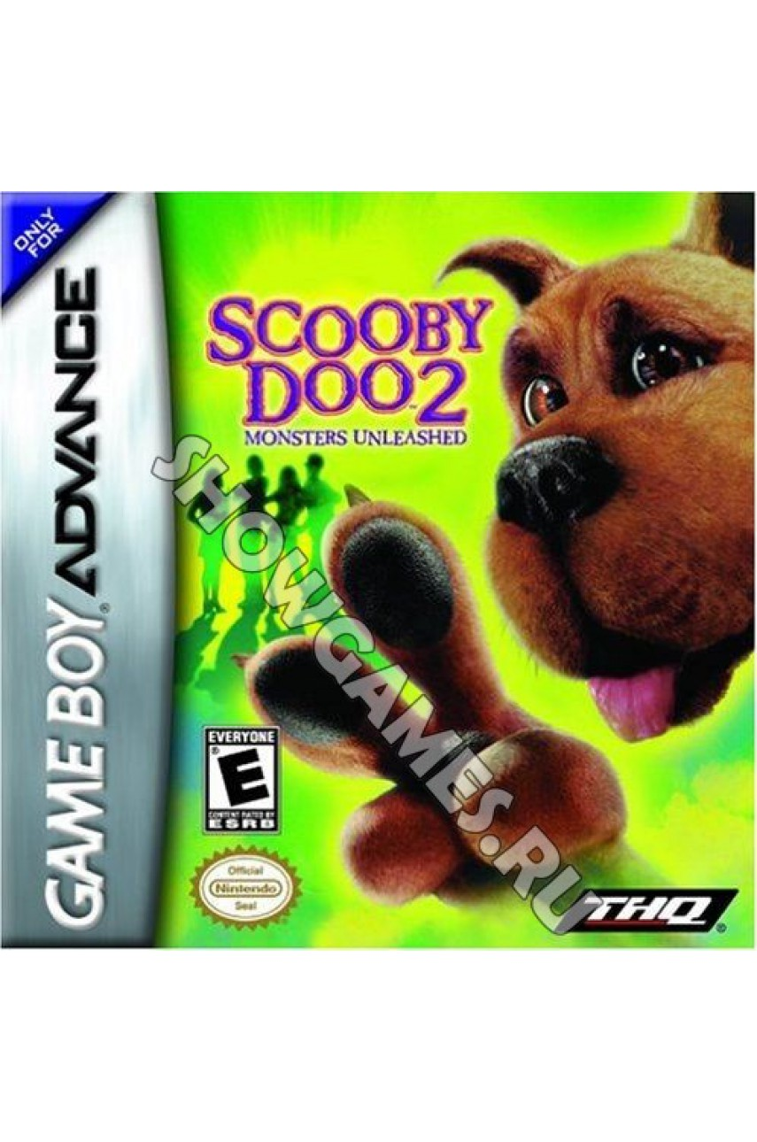 Scooby-Doo 2: Monsters Unleashed (Русская версия)  [GBA]