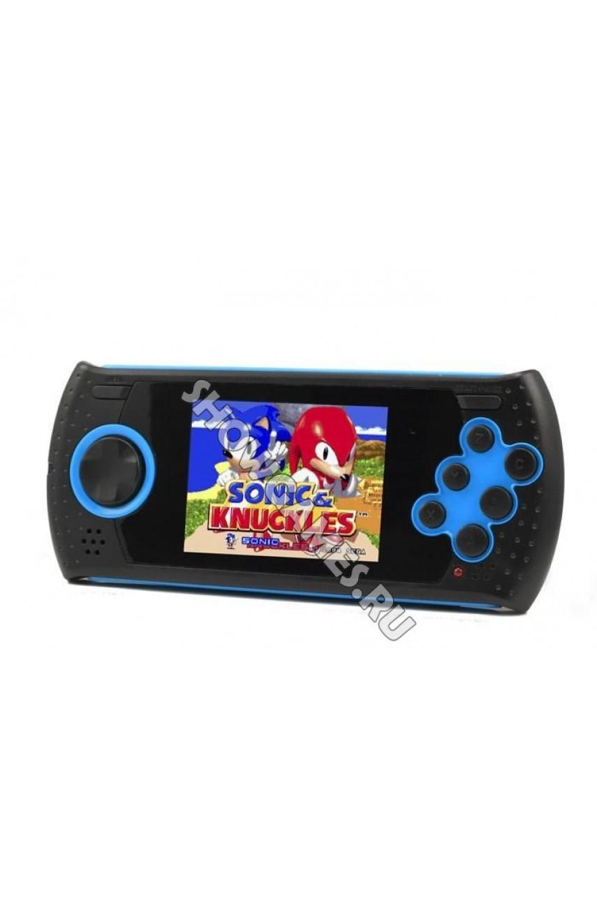 Sega Genesis Mega Drive GOPHER (синяя) [20 игр]