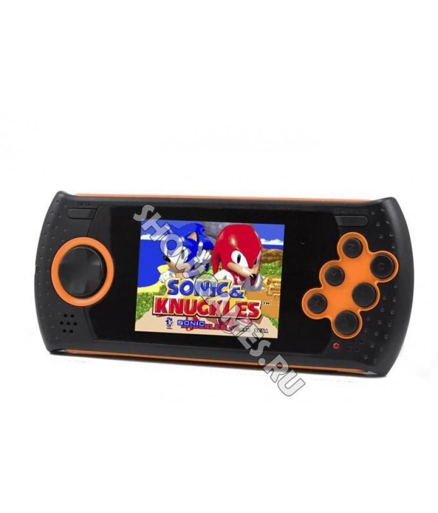 Sega Genesis Mega Drive GOPHER (оранжевая) [20 игр]