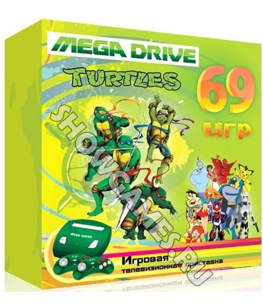 Sega Mega Drive Turtles (69 игр)