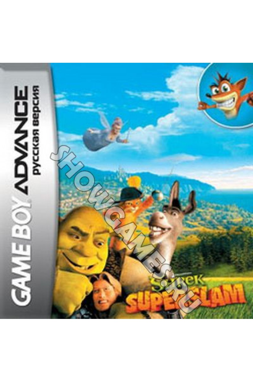 Shrek: Super Slam (Русская версия)  [Game Boy]