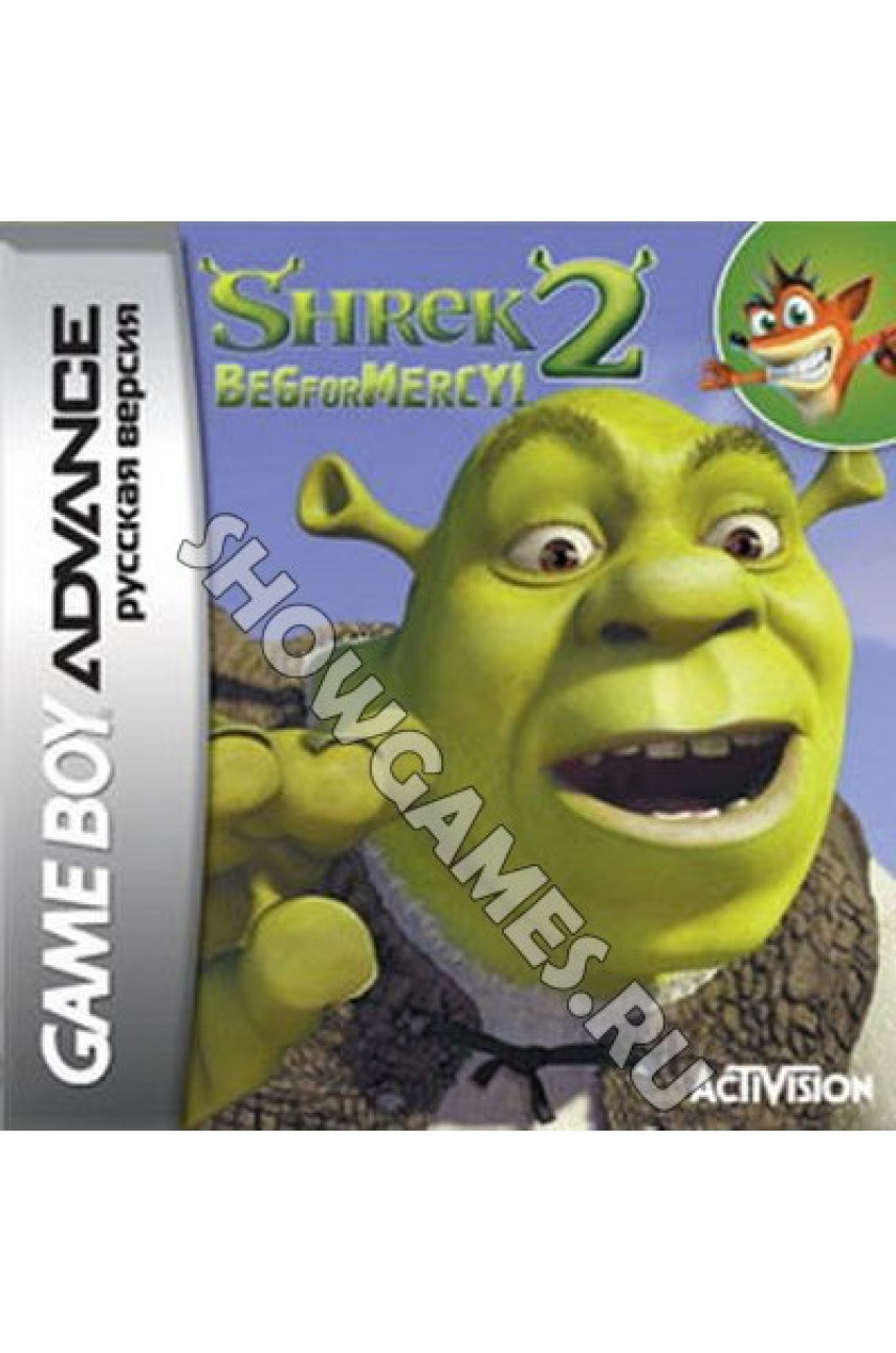 Shrek 2: Beg for Mercy (Русская версия)   [GBA]