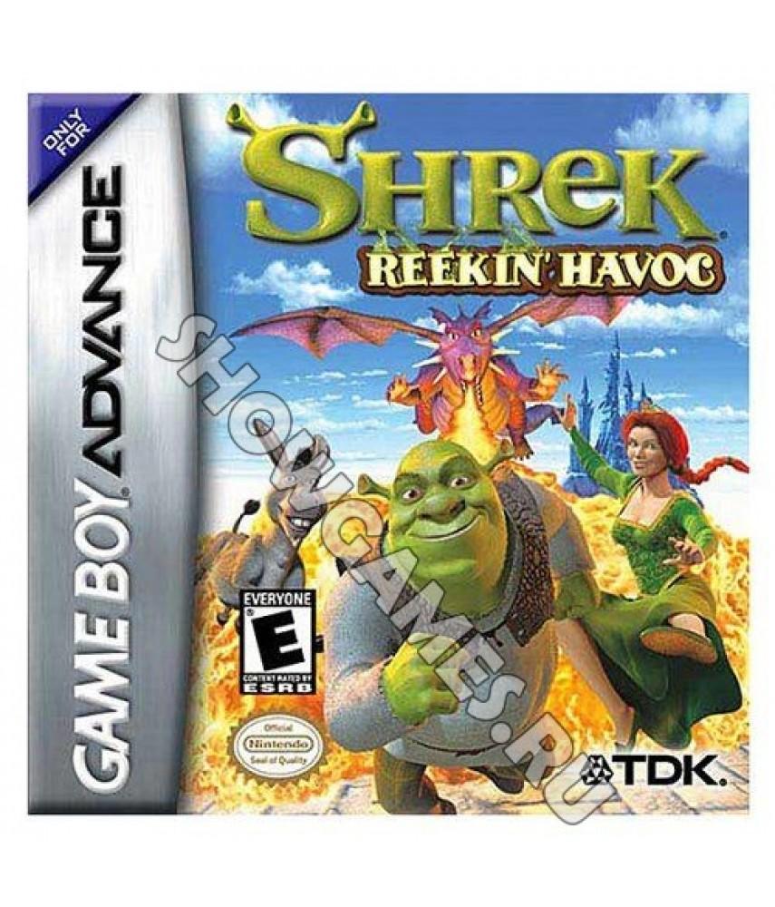 Shrek: Reekin' Havoc (Русская версия)  [GBA]