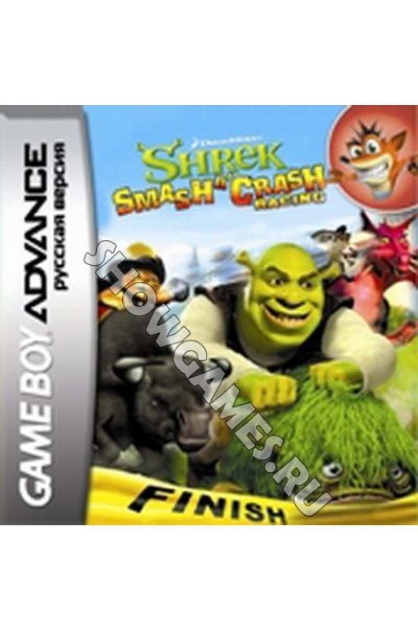 Shrek Smash n Crash Racing  [GBA]