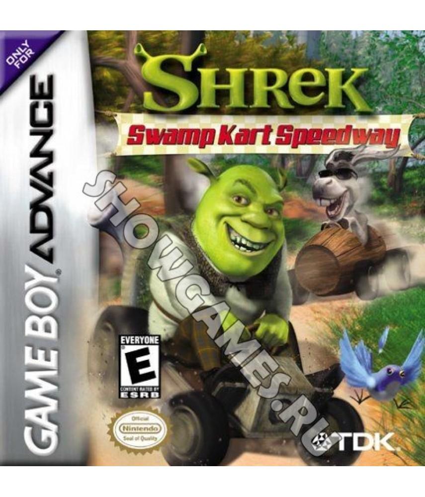 Shrek Swamp Kart Speedway  [GBA]