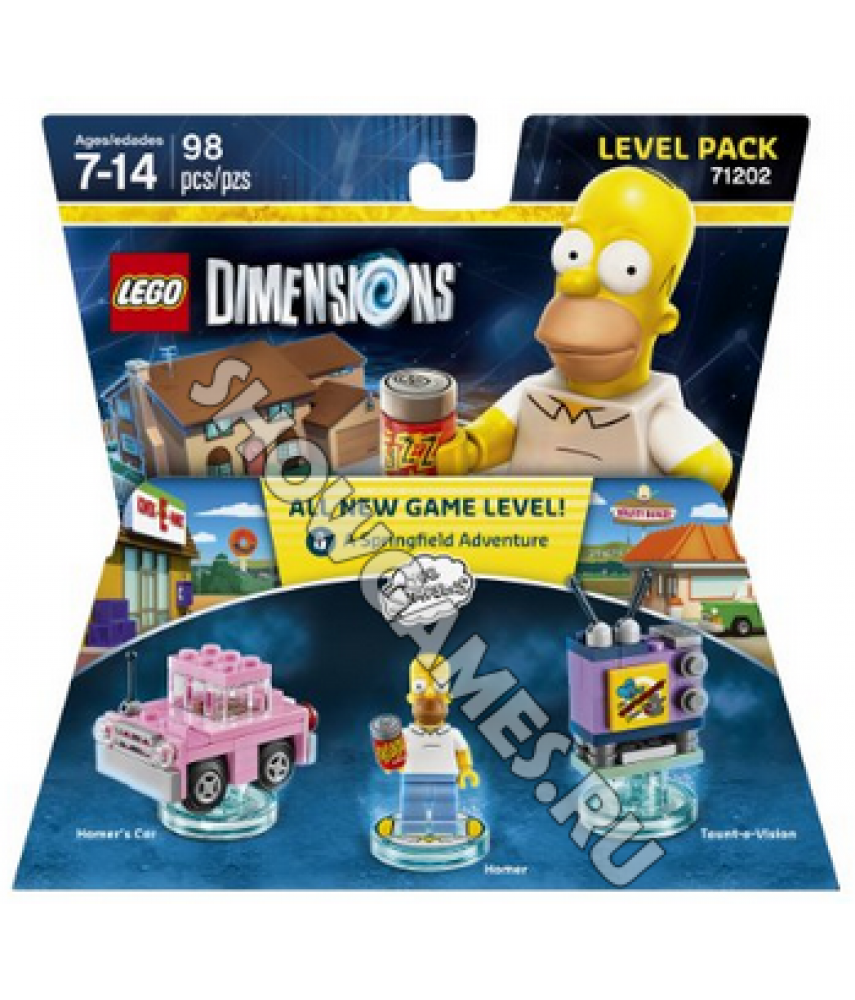 Simpsons Level Pack - LEGO Dimensions 71202