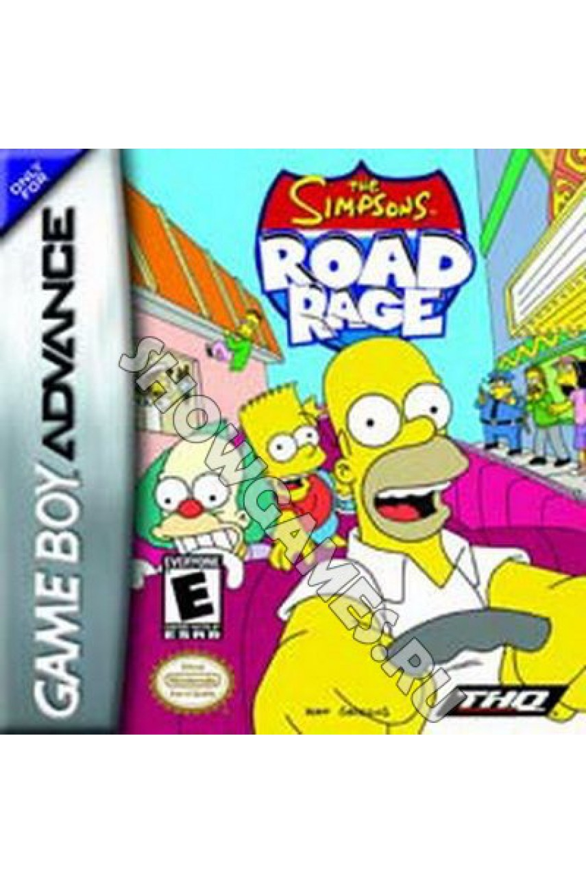 Simpsons: Road Rage [GBA]