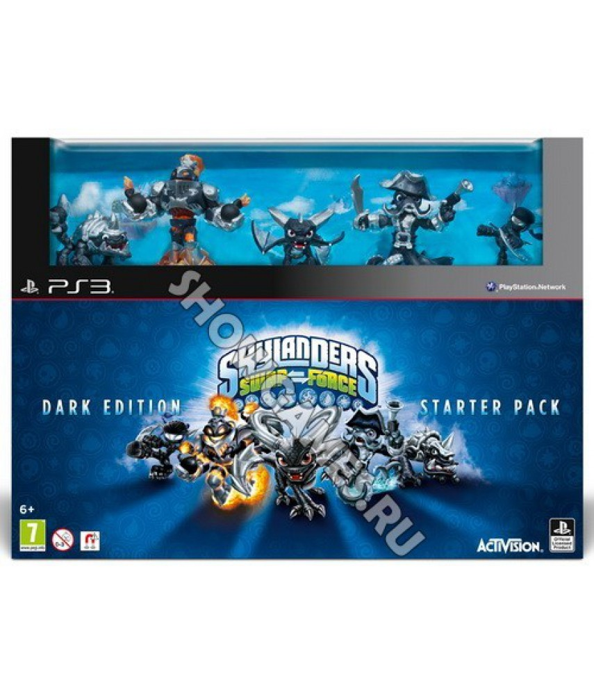 Skylanders Swap Force Dark Edition Starter Pack - Стартовый набор Темное издание [PS3]