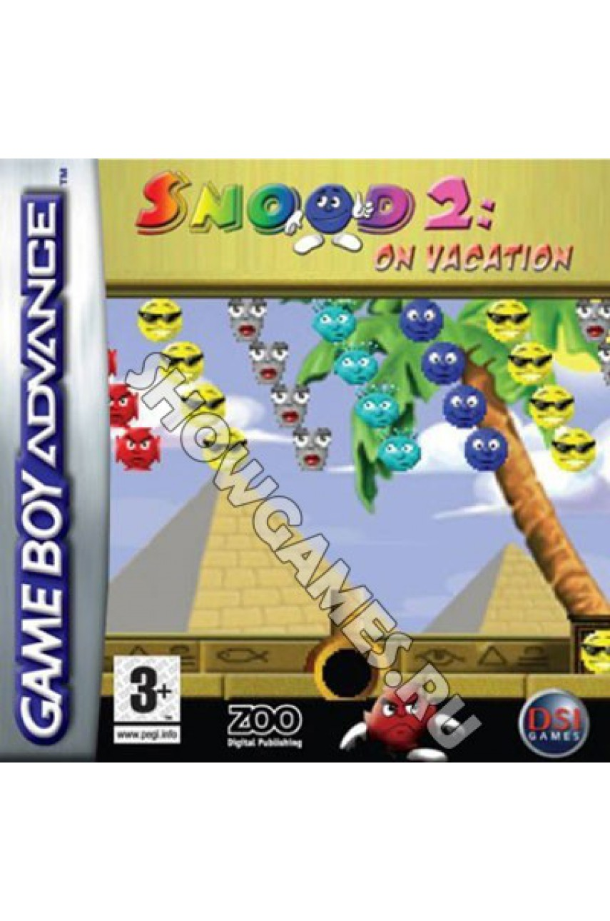 Snood 2 Snoods on Vacation (Русская версия) [Game Boy]
