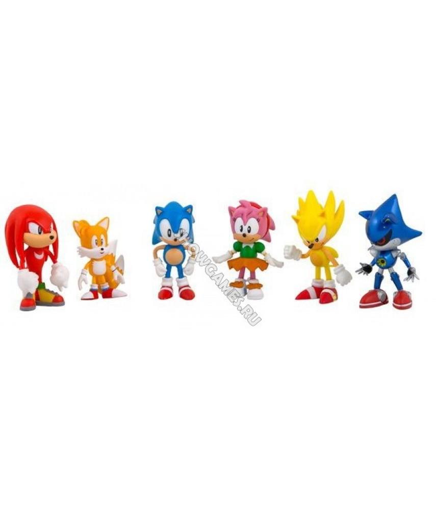 Набор фигурок Sonic (Соник Супер-ежик)