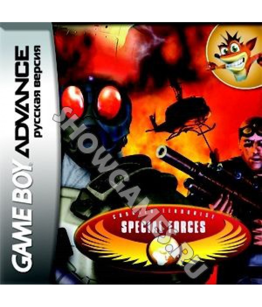 CT Special Forces (Русская версия) [GBA]