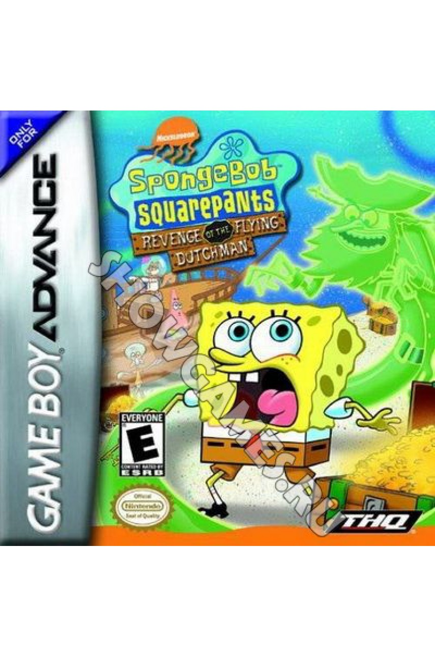 SpongeBob SquarePants: Revenge of the Flying Dutchman [GBA]