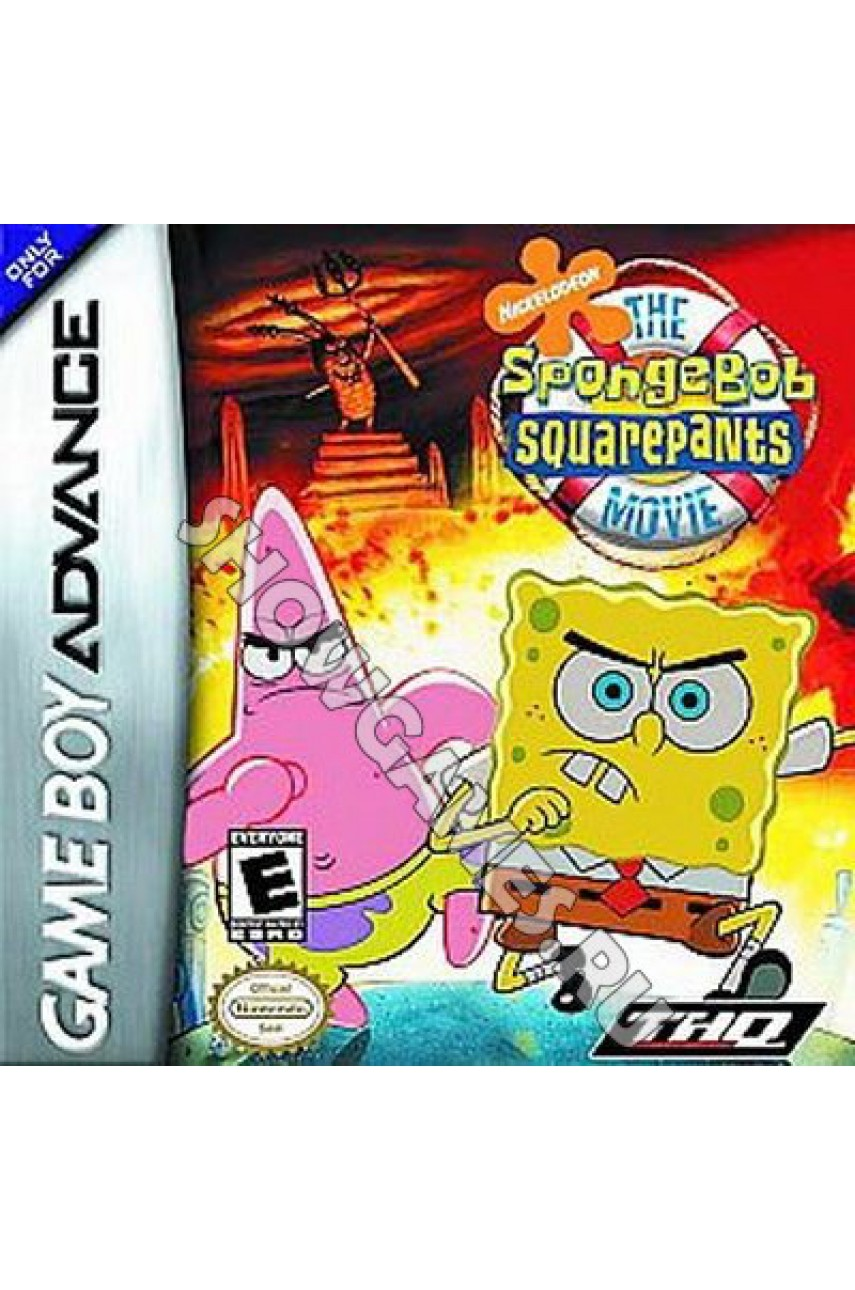 SpongeBob SquarePants The Movie (Русская версия) (Cпанчбоб) [GBA]