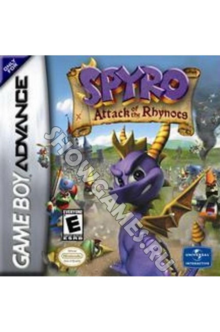 Spyro: Attack of the Rhynocs (Русская версия)  [GBA]