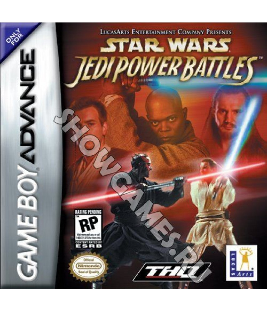 Star Wars: Jedi Power Battles [GBA]