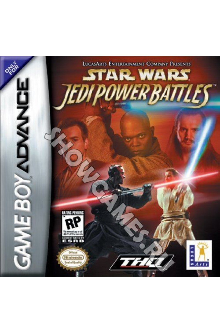 Star Wars: Jedi Power Battles [GBA]