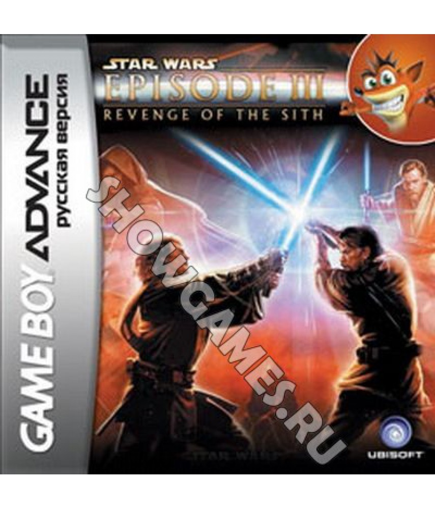 Star Wars Episode 3: Revenge of the Sith (Русская версия) [GBA]