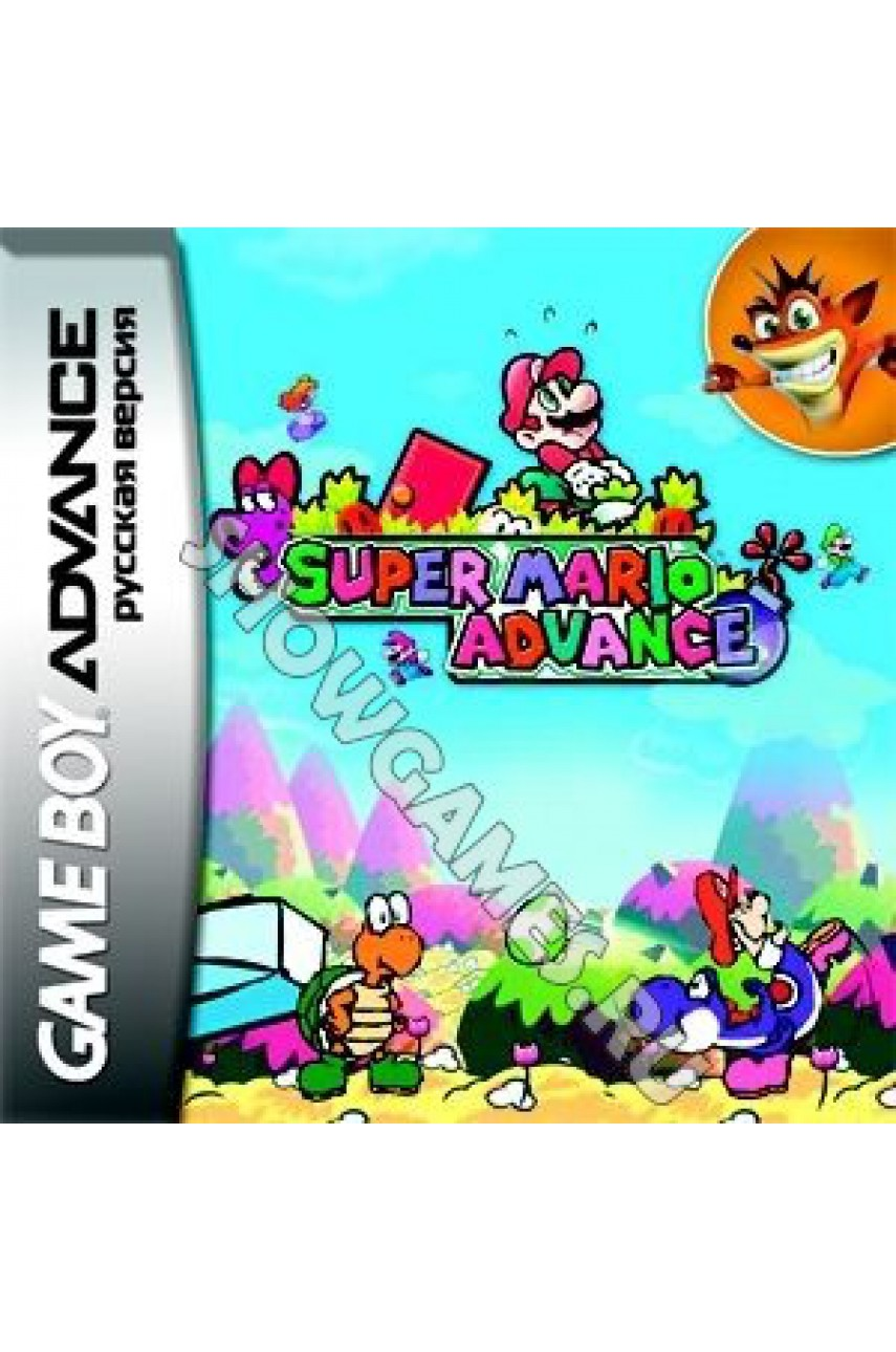Super Mario Advance (Русская версия)  [GBA]