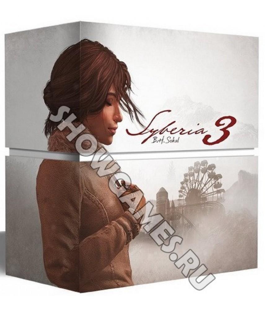 Сибирь 3 Коллекционное издание (Русская версия) [PS4]
