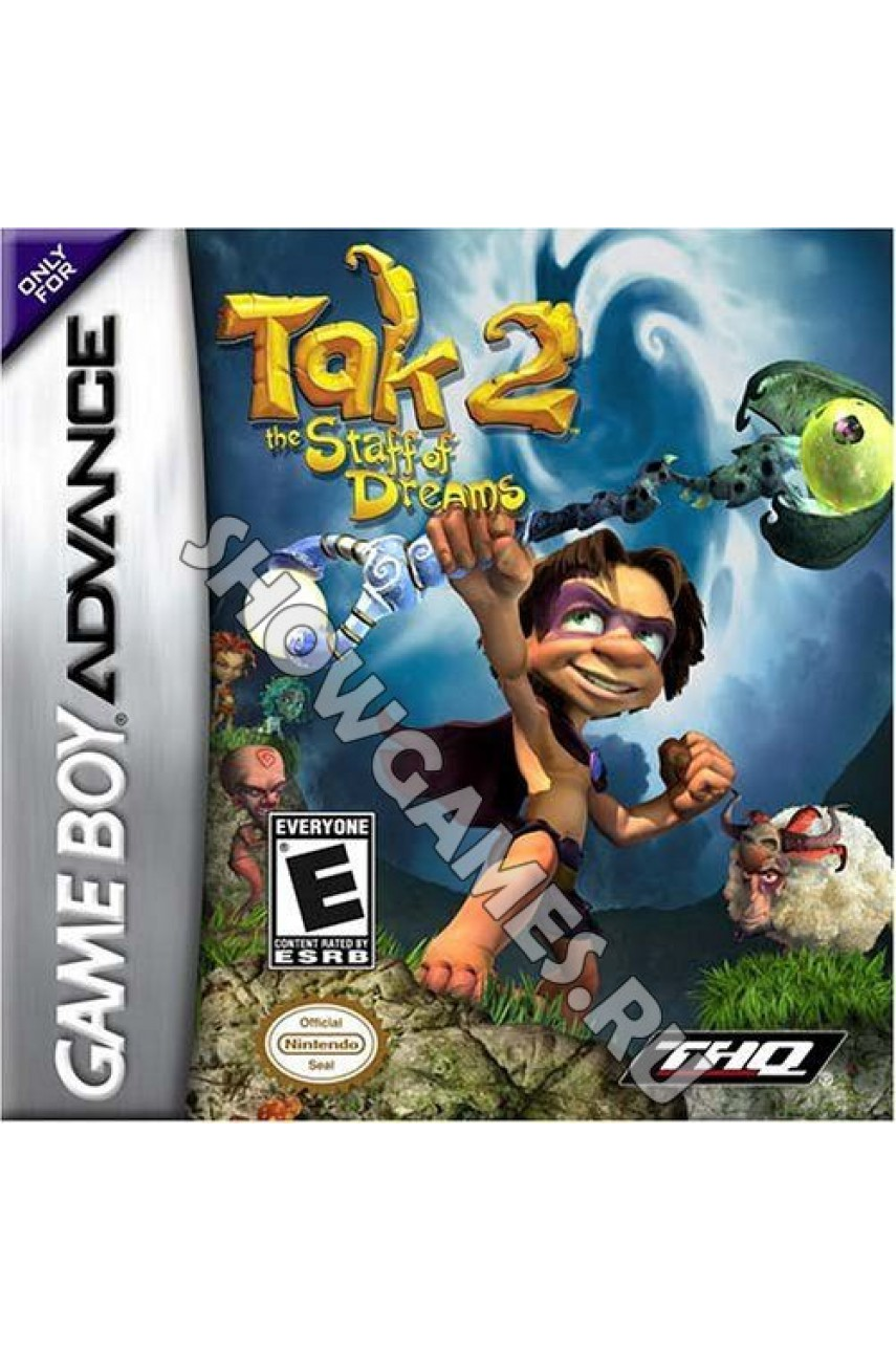 TAK 2: The Staff of Dreams  [GBA]