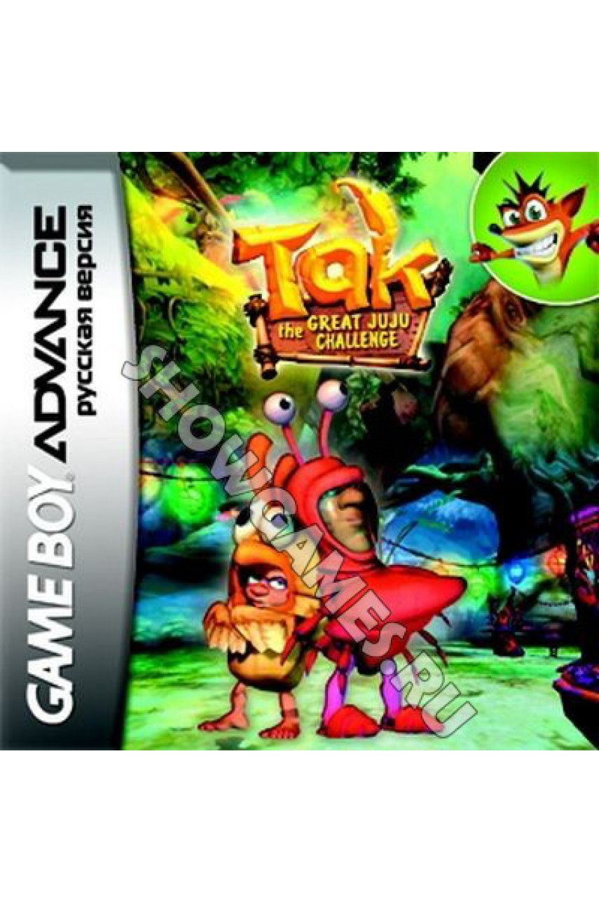 Tak: The Great Juju Challenge (Русская версия) [GBA]