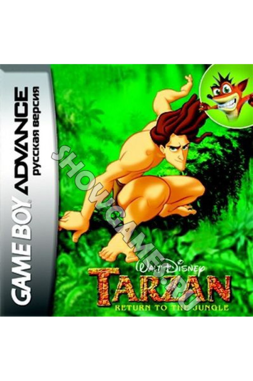 Tarzan: Return to the Jungle [GBA]