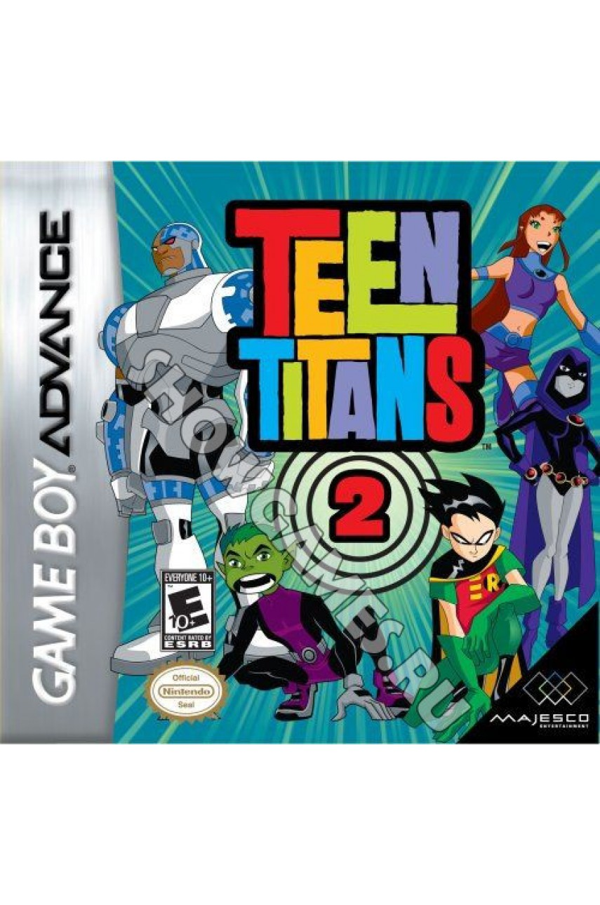 Teen Titans 2  [Game Boy]