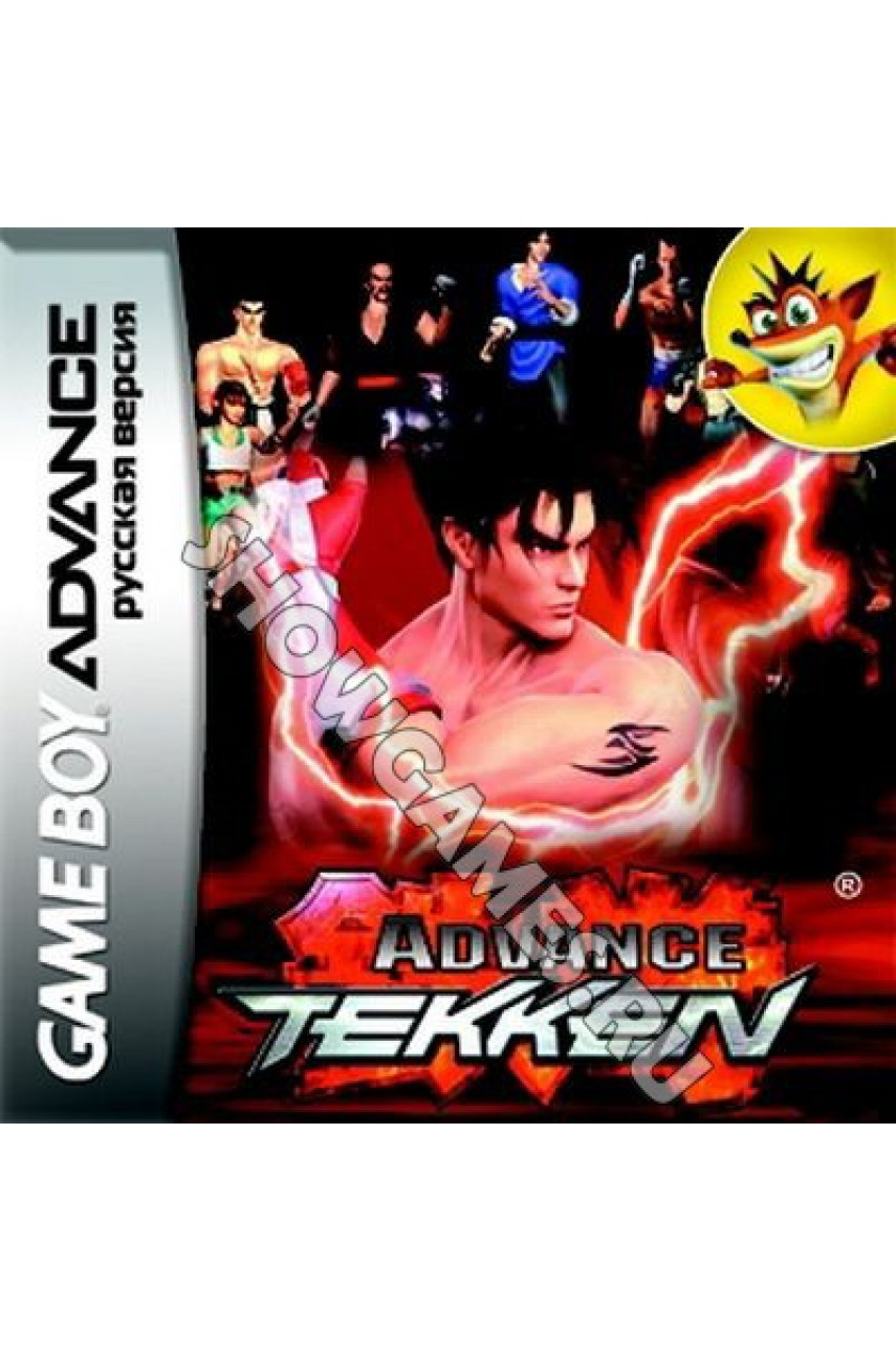 Tekken Advance (Русская версия)  [GBA]