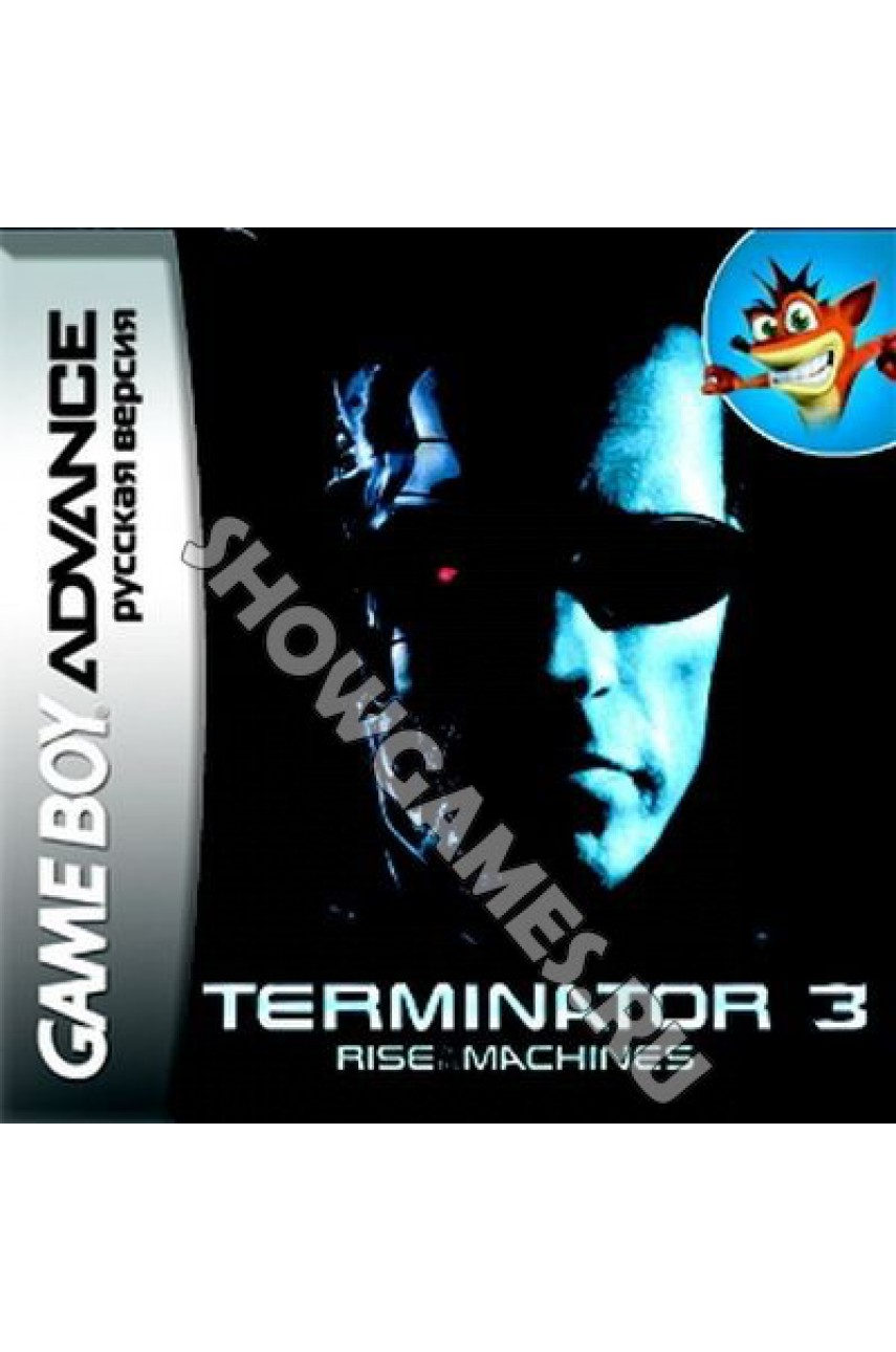 Terminator 3: Rise of the Machines (Русская версия) [Game Boy]