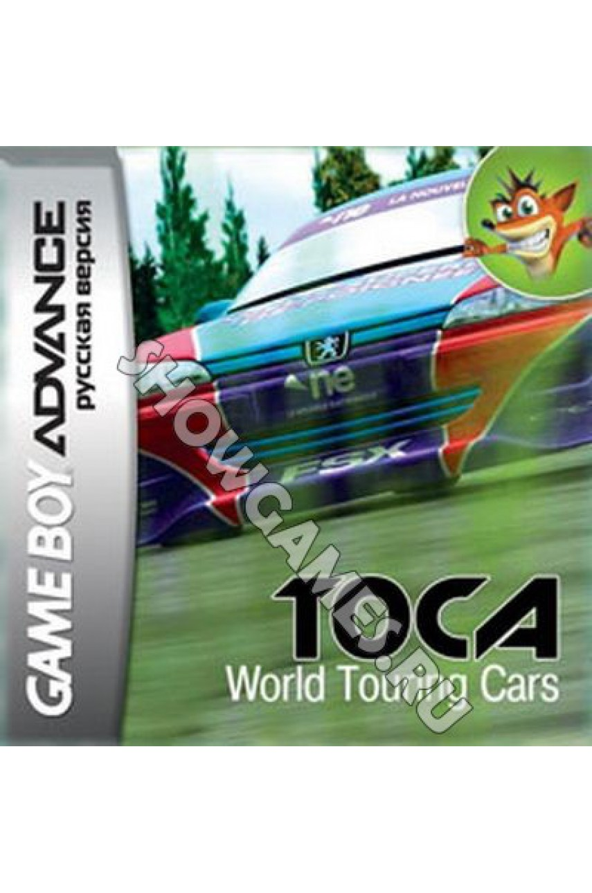 TOCA World Touring Cars (Русская версия)  [Game Boy]