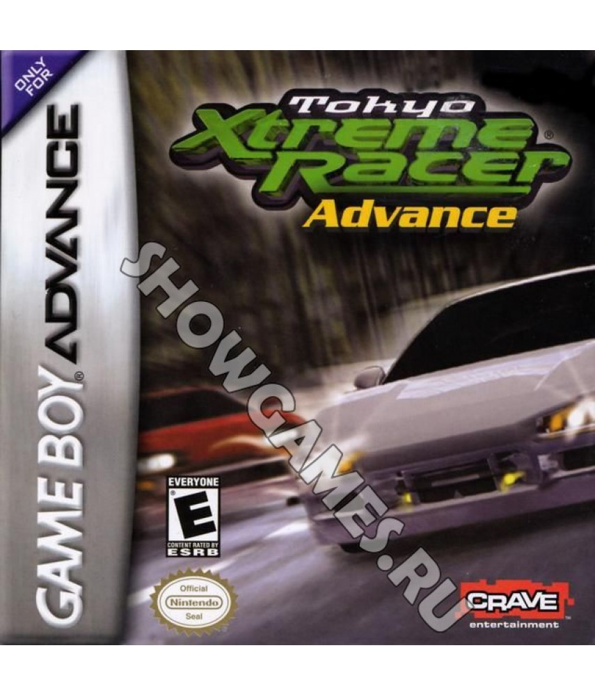 Tokyo Xtreme Racer Advance (Русская версия)  [Game boy]