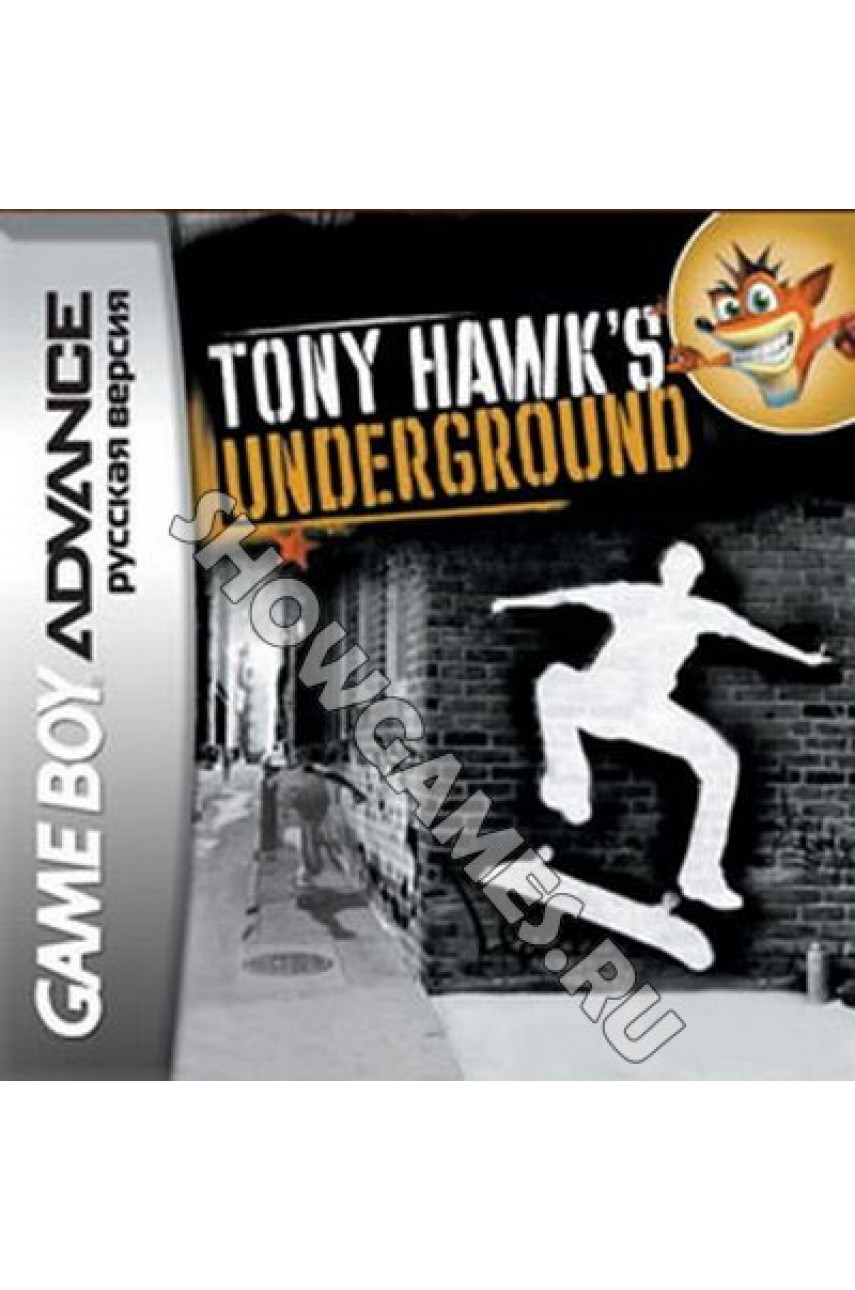 Tony Hawk`s Underground  [Game boy]