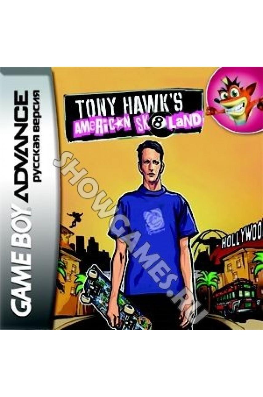 Tony Hawks American Sk8land  [Game Boy]