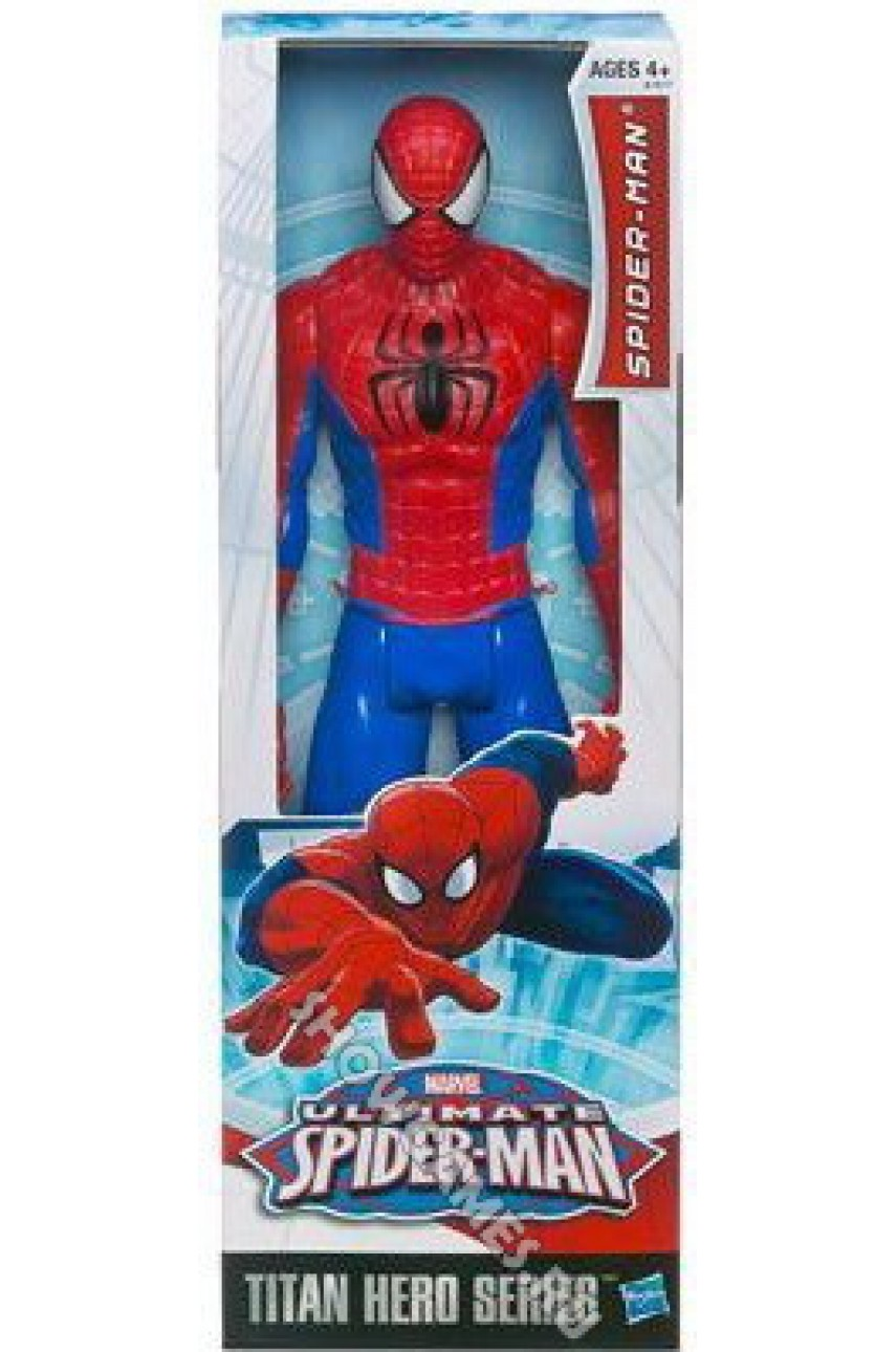 Фигурка Человек Паук (Marvel Titan Hero. Ultimate Spider Man)