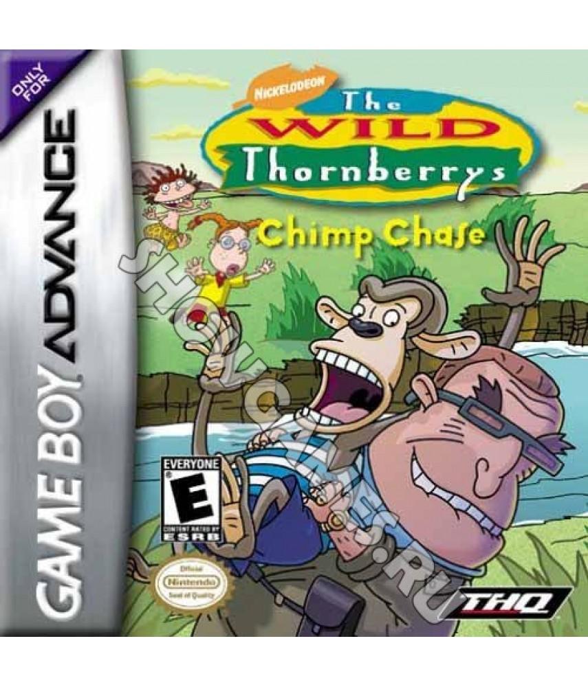 The Wild Thornberry: Chimp Chase. Дикая Семейка Торнберри: Погоня за Шимпанзе (GBA)
