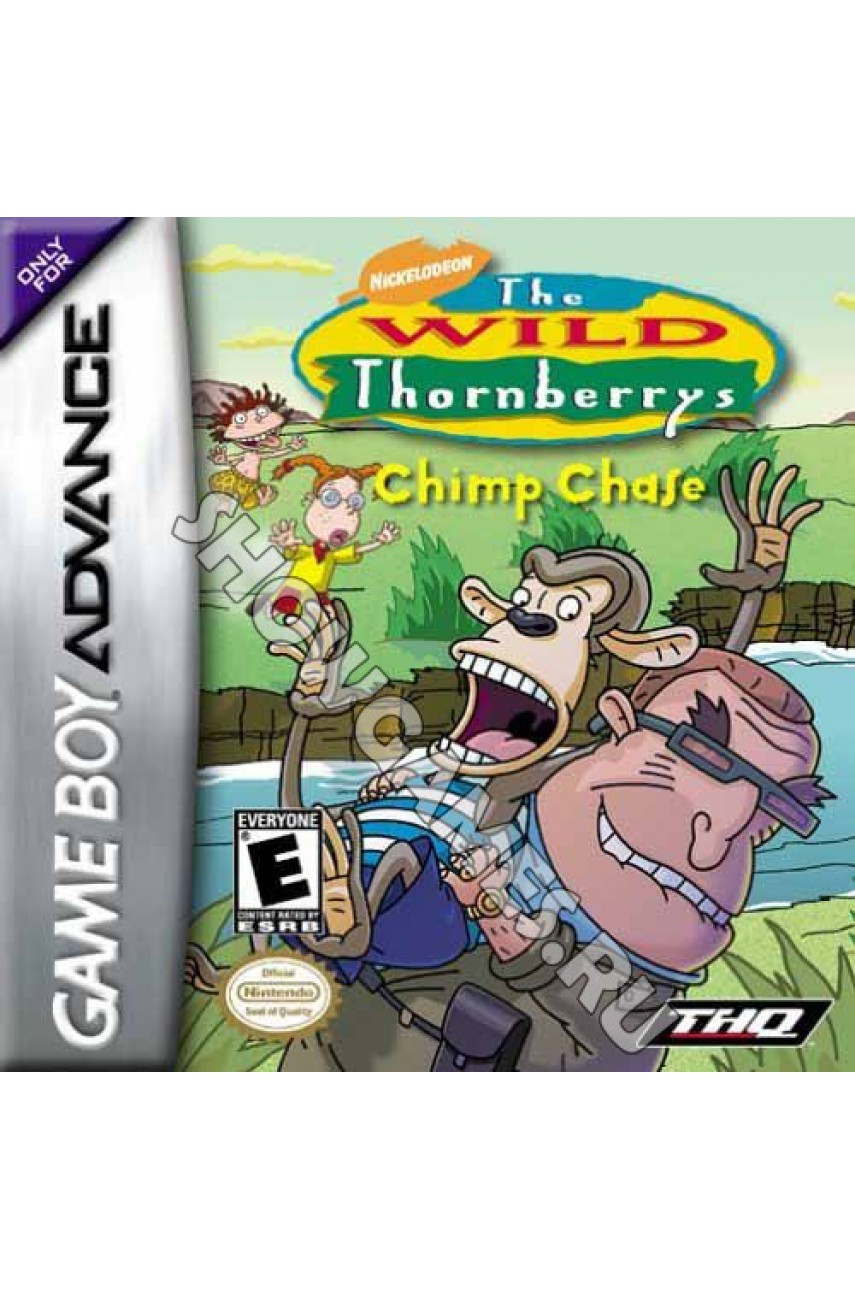 The Wild Thornberry: Chimp Chase. Дикая Семейка Торнберри: Погоня за Шимпанзе (GBA)